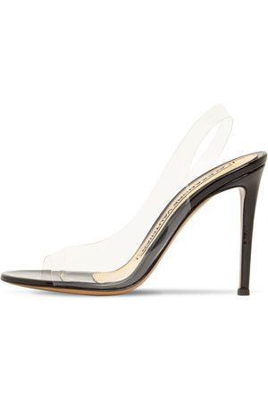 ALEXANDRE VAUTHIER 105mm Hohe Slingback-sandaletten Aus Plexiglas