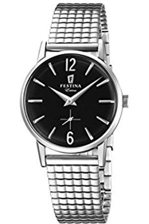 Festina Damen Analog Quarz Uhr mit Edelstahl Armband F20256/4