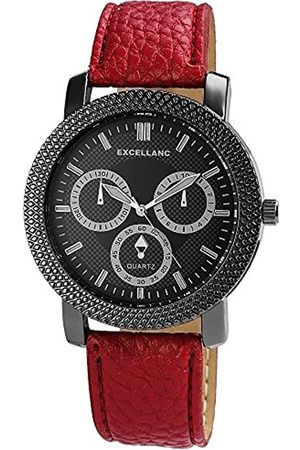Excellanc Unisex-Armbanduhr Analog Quarz Kunstleder 295071000150