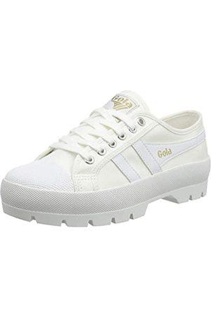 Gola Damen Coaster Peak Sneaker, White/White/White