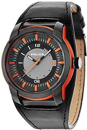 Police Herren Uhren - Herren-Armbanduhr Analog Quarz P14438JPOB-13