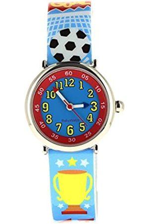 Baby Watch 606092 Jungen-Armbanduhr, Design: Goal, Quarzuhrwerk, Pädagogisch, wertvoll, Zifferblatt, Kunststoff