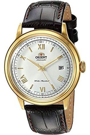 Orient Unisex Erwachsene Analog Automatik Uhr mit Leder Armband FAC00007W0