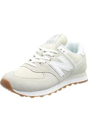 New Balance Damen 574 Pastel Pack Sneaker, (Silver Birch)