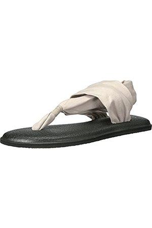 Sanük Damen Yoga Sling 2 Sandale, Hell/naturfarben