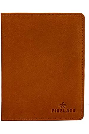 FINELAER Reisepasshülle aus Leder (Gelb) - FINE-0116