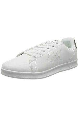 Hummel Unisex-Erwachsene BUSAN Sneaker, White/Dark Grey