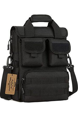 ArcEnCiel Taktische Kuriertasche für Herren, Militär-Stil, MOLLE-Schultertasche, Aktentasche, Sturmausrüstung, Handtaschen