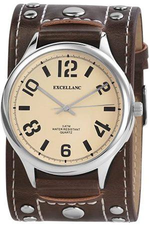 Excellanc Herren-Uhren mit Polyurethan Lederband 195027000099
