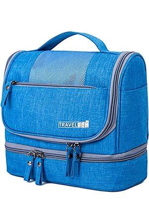 Jereture Kulturtasche, verbessertes Hänge-Reise-Kultur-Organizer-Kit mit separaten Taschen für trockene und feuchte Handtücher, wasserdichte Kosmetiktasche, Badezimmer-Dusch-Aufbewahrungstasche