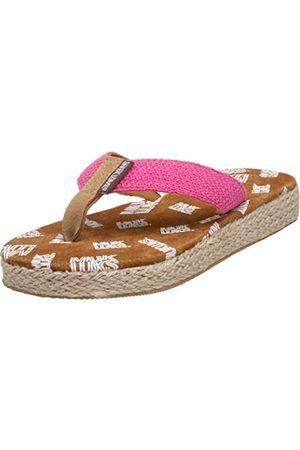MUK LUKS Damen Betty Solid Thong Sandalen, Pink (Hellrosa)