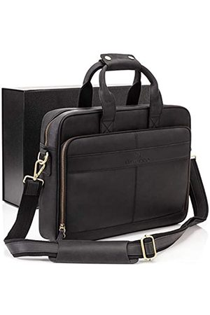 Luxorro Leather Briefcases For Men   Soft