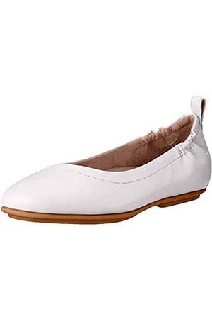 FitFlop Damen Allegro Ballerina-Leather Geschlossene Ballerinas, (Ss20 Jet Stream 031)