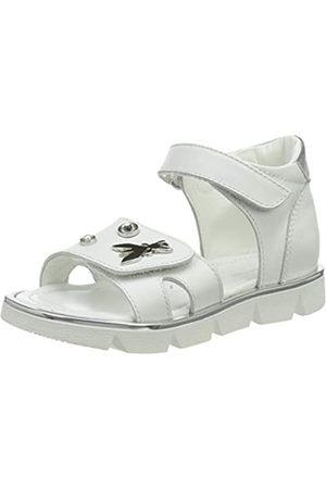 Patrizia Pepe PPJ91.30 Sandale, White+Silver