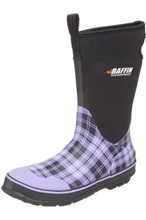 Baffin Marsh Damen Stiefel, Schwarz, Mehrere (Lavendelkaro)