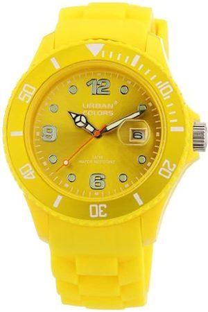 Urban Colors Unisex-Armbanduhr Classic Analog Silikon 360290.21