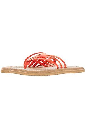 Sanük Damen Yoga Salty Flip-Flop, (Cherry Tomato)