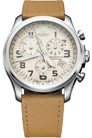 Victorinox Swiss Army Herren-Armbanduhr XL Classic Infantry Chronograph Quarz Leder 241579