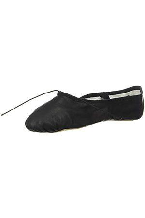 Bloch Dance Women's Dansoft Full Sole Leather Ballet Slipper/Shoe, Black