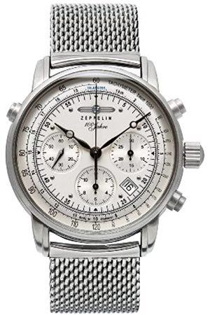 Zeppelin Watches Herren-Armbanduhr XL Analog Automatik Edelstahl 7618M1
