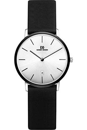 Danish Design Damen Analog Quarz Uhr mit Leder Armband IV14Q1030