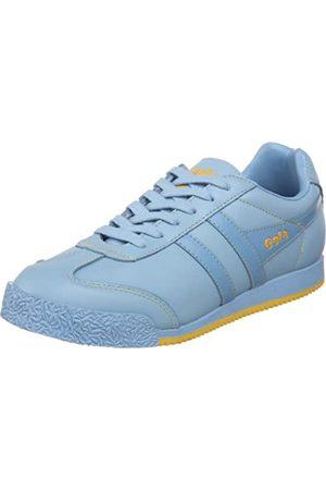 Gola Damen Dual Harrier Leder Schnürschuh Mode Sneaker, (Powder Blue)