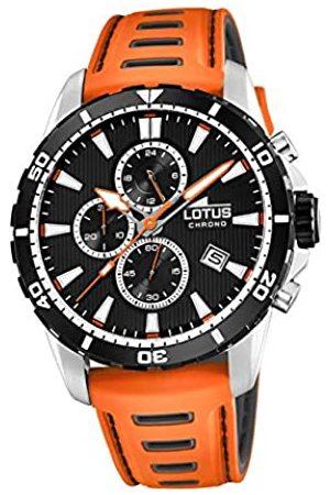 Lotus Herren Analog Quarz Uhr mit Leder Armband 18600/2