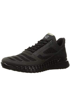 Ecco Herren Zipflex Hiking Shoe, (Black/Black)