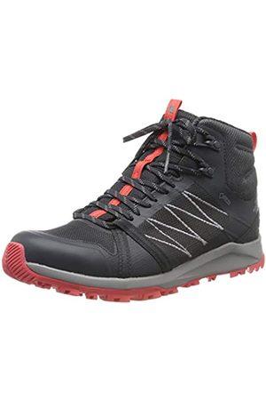 The North Face Damen W Lw FP Ii Mid GTX Trekking- & Wanderstiefel, (Ebony Grey/Fiesta RED C40)