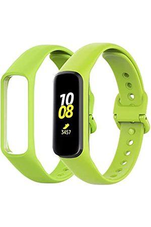 YoYaFe Ersatzbänder kompatibel mit Samsung Galaxy Fit 2 SM-R220 für Damen und Herren, klassisch, wasserdicht, Sportarmband