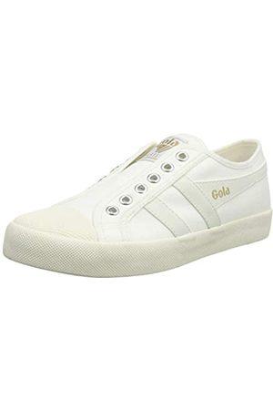 Gola Damen Coaster Slip Sneaker, Off White/Off White