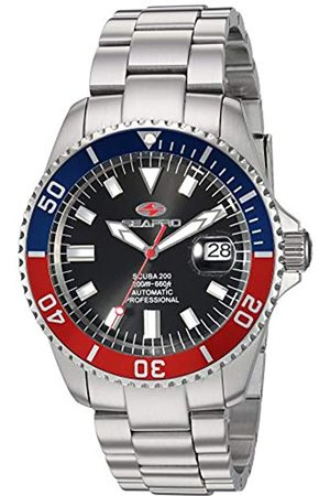 Seapro Herren Scuba 200 Automatik Edelstahl Armband Silber 22 Casual Watch (Modell: SP4319)