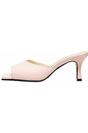 SELECTED Female Sandalen Quadratische Schuhspitze Leder 36Candy Pink