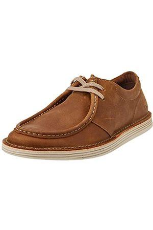 Clarks Herren Forge Run Oxford, Tan Leather