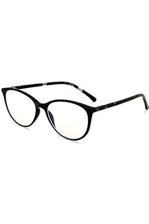 Gudzws Blue Light Blocking Eyewear Reading Readers Retro Acetate 0.00