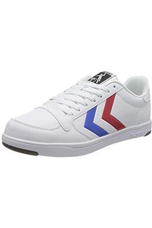 Hummel Unisex-Erwachsene Stadil Light Sneaker, White/Blue/RED