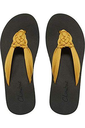 chitobae Flip Flops für Damen, Flache Sandalen Handgeknüpfte Hausschuhe mit Fußgewölbeunterstützung für Sommer Strand