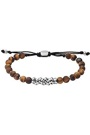 Fossil Herren Armband Beads Tigerauge