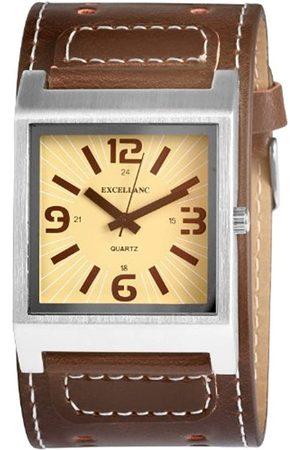 Excellanc Herren-Uhren mit Polyurethan Lederband 195027100112
