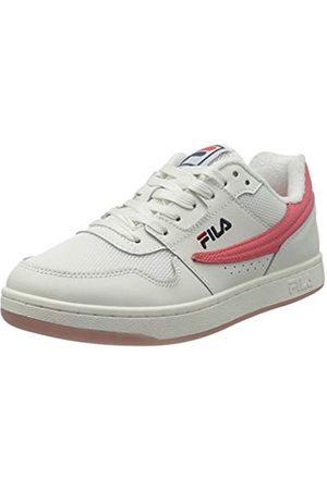 Fila Damen Arcade NT-M wmn Sneaker, White/Calypso Coral