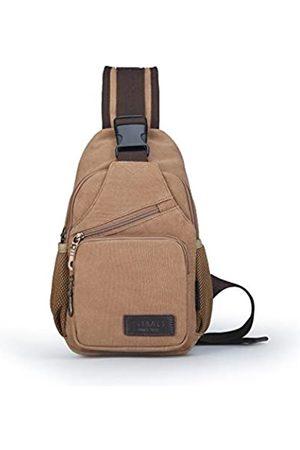 SIMU Schultertasche / Schultertasche für iPad Mini, aus Segeltuch, klein