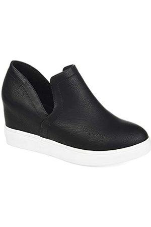 Journee Collection Cardi Sneaker für Damen, Keilabsatz
