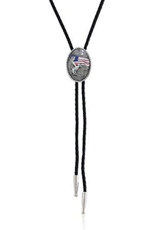 M&F Western Unisex Bolo-Krawatte. One Size Silber