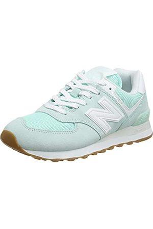 New Balance Damen 574 Pastel Pack Sneaker, (White Mint)