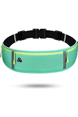 GKE Nefli Lauftasche mit reflektierenden Streifen, Hüfttasche, ultraleicht, für Handy, (himmelblau)