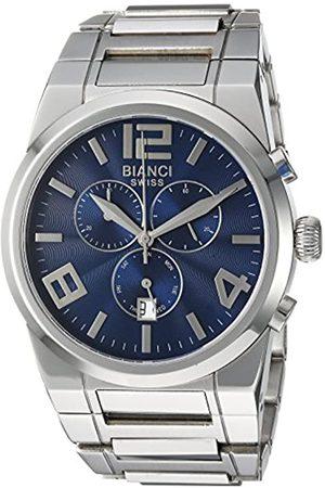 ROBERTO BIANCI WATCHES Herren analog Swiss Quartz Uhr mit Edelstahl Armband RB90730