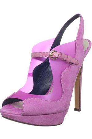 Pollini Gruppo Fantasy PA1620CC0TPP2 Damen Sandalen, Pink (Rose)