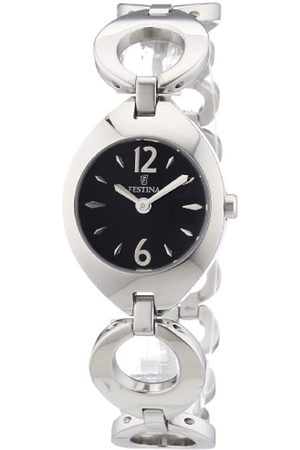 Festina Damen-Armbanduhr XS Trend Analog Quarz Edelstahl F16616/4