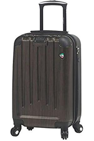 "Mia Toro M1028-20in-brz Italy Diamante Spazzolato Hardside Spinner 20"" Carry-on"