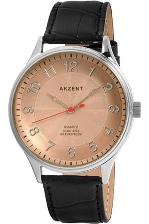 Akzent Herren-Uhren mit Polyurethan Lederband SS7221500024